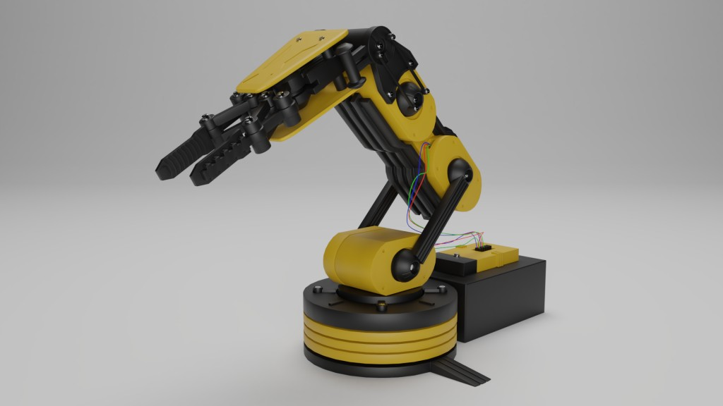 Toy Robot Gripper preview image 1