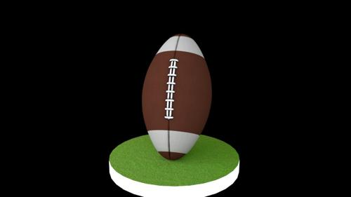 American Football Ball preview image