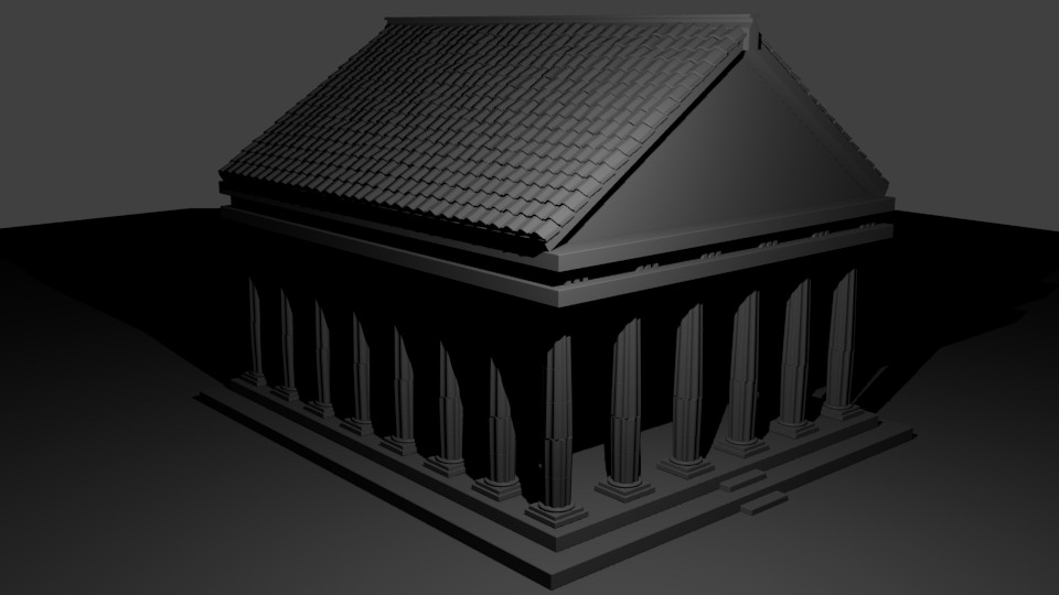 Greek Temple preview image 2
