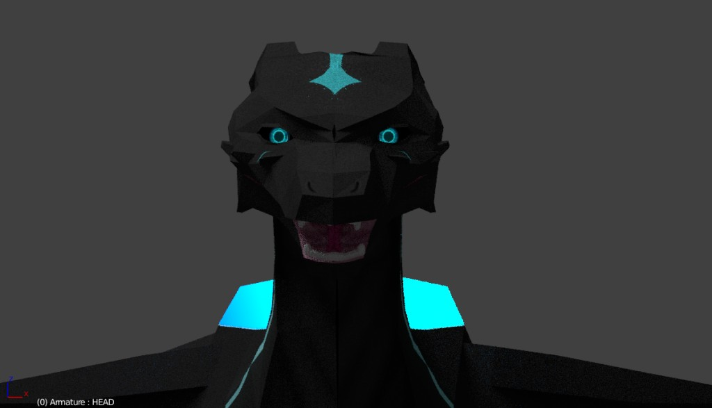 [LOW POLY] Raubtier the World Eater preview image 3