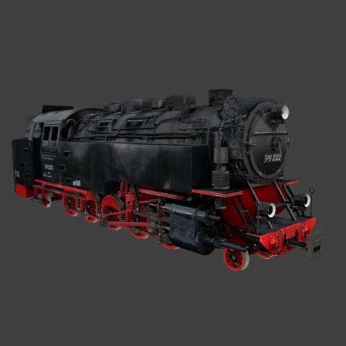 Steam Locomotive BR 99 222 preview image