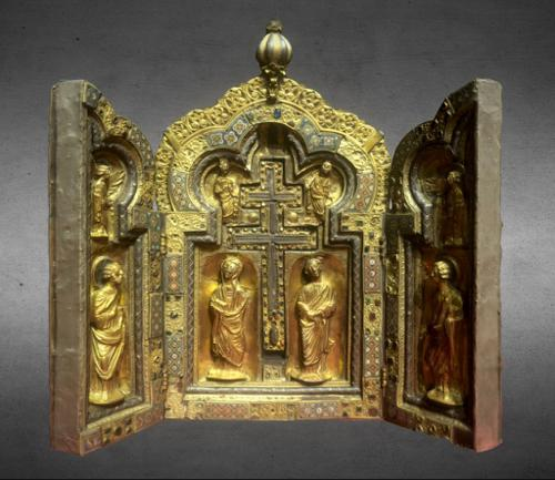 Reliquary triptych of the Holy Cross preview image