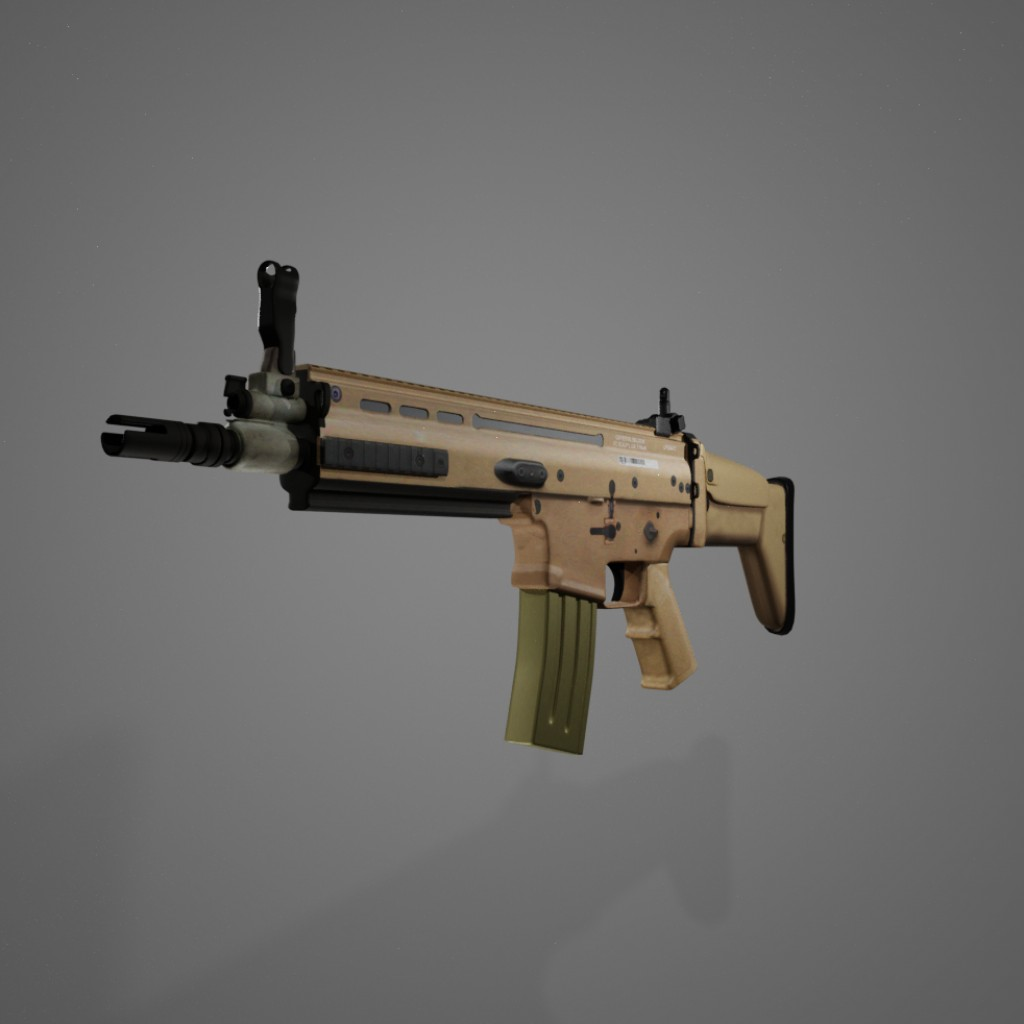 Assault rifle, FN SCAR L preview image 2