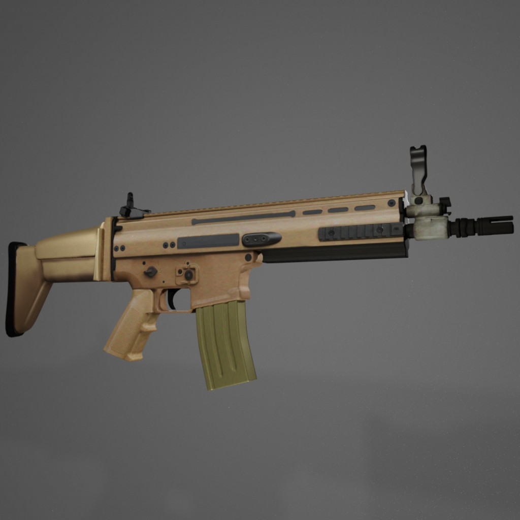 Assault rifle, FN SCAR L preview image 1