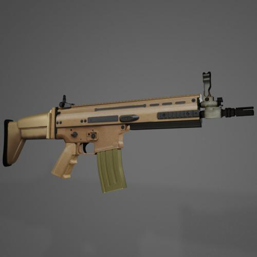 Assault rifle, FN SCAR L preview image