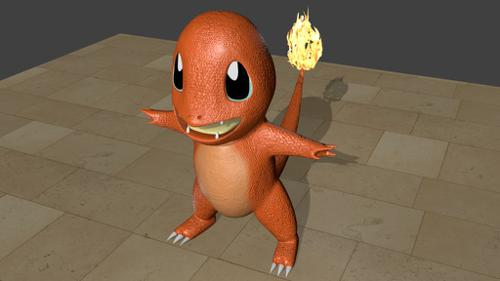 Charmander Toy ModeL preview image
