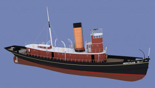 Hercules steam tug boat preview image