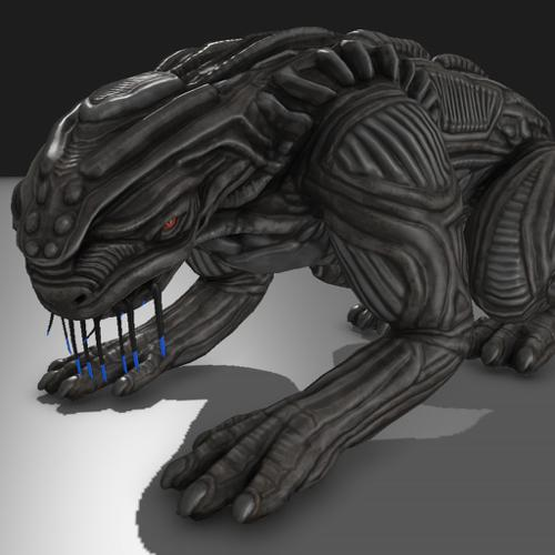 Alien Animal Blender Game Engine preview image