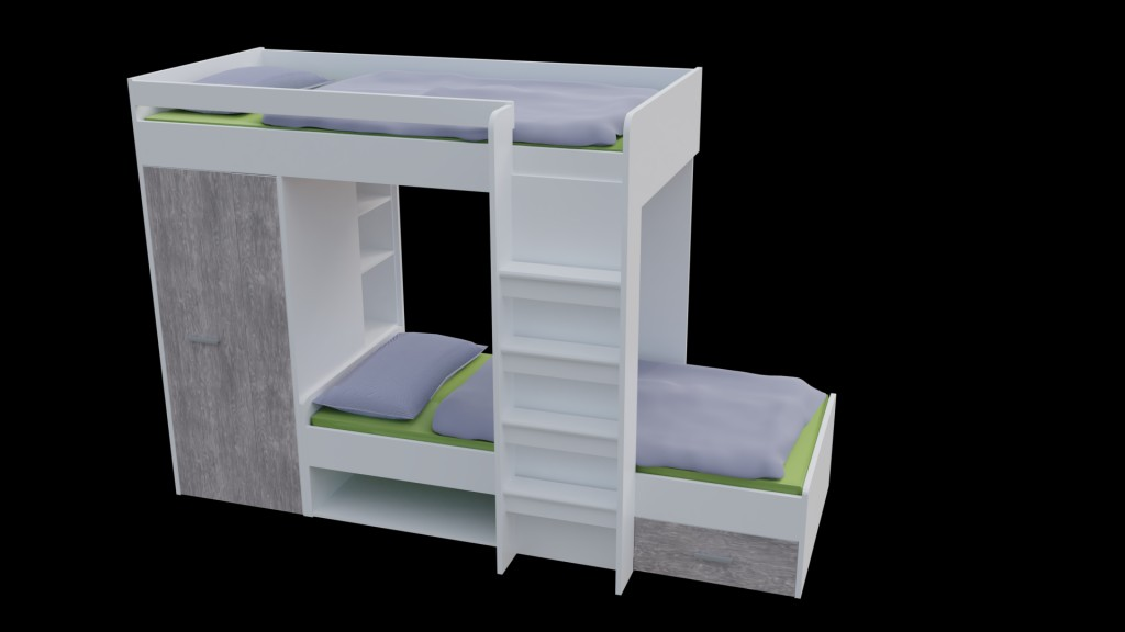 Bunk bed preview image 1