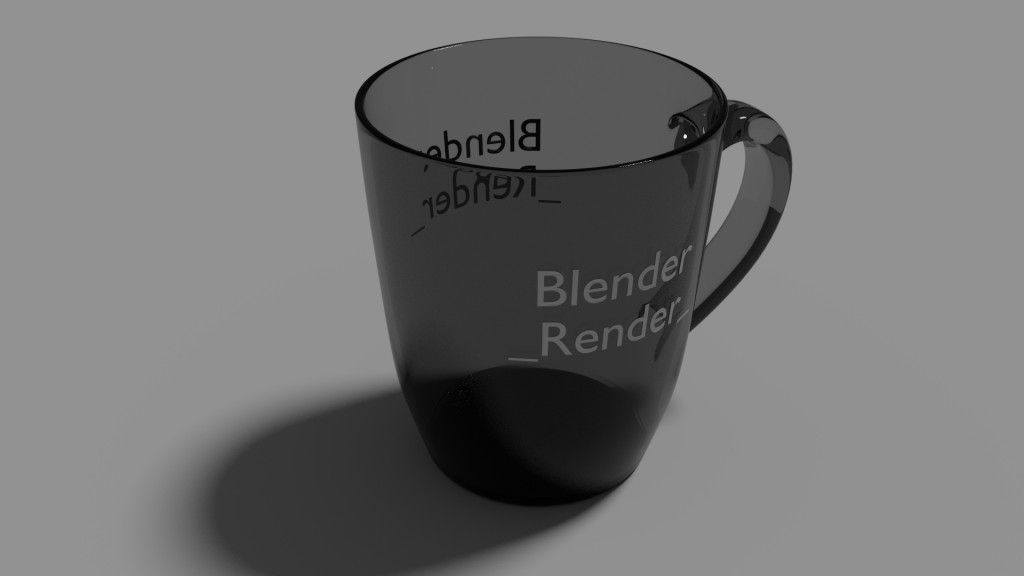 Glossy Cup with a text... preview image 2