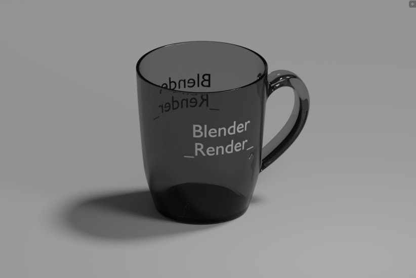 Glossy Cup with a text... preview image 1