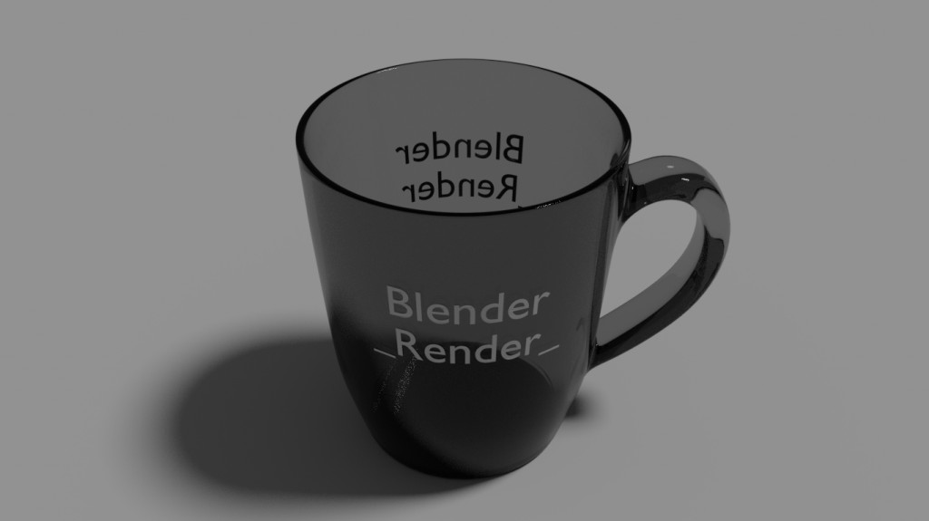 Glossy Cup with a text... preview image 3
