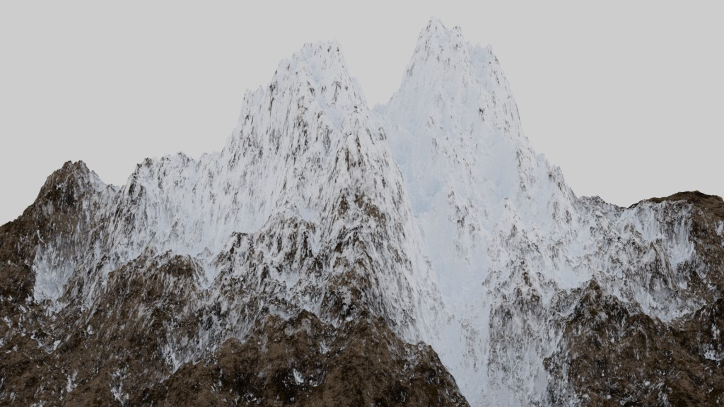 procedural texture snow_mountain preview image 1