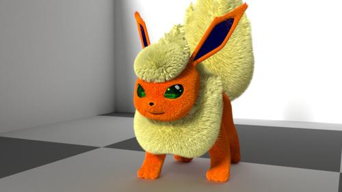 Fluffy Flareon preview image