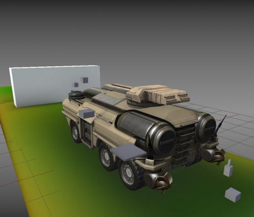 Amphibious Tank (New Rig) preview image