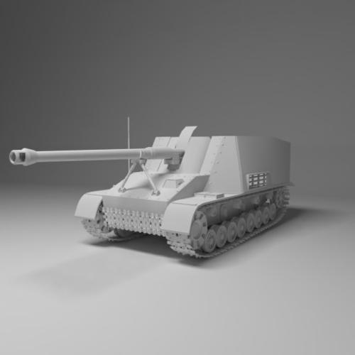 Nashorn - German Tank Destroyer preview image