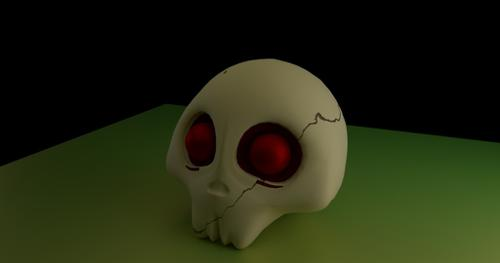 Cartoon Skull Funny preview image