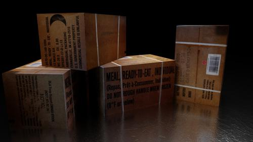 Meals, Ready-to-Eat Case B Box (MRE) preview image