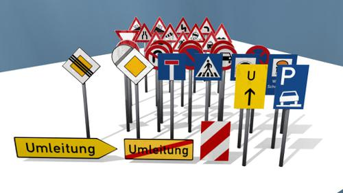 German street signs preview image
