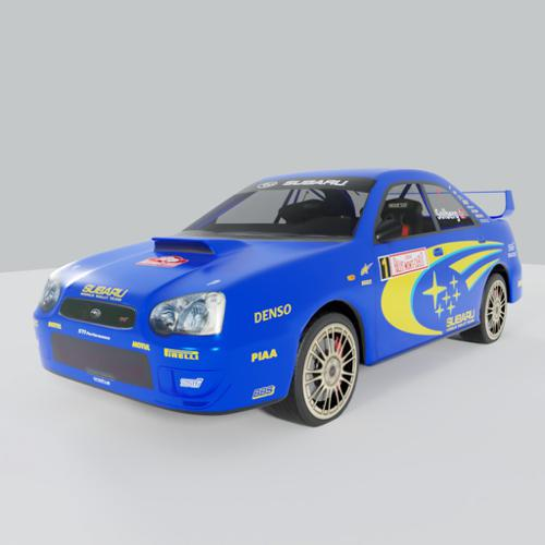 Rally car Subaru Impreza WRX STI sedan 2004  preview image