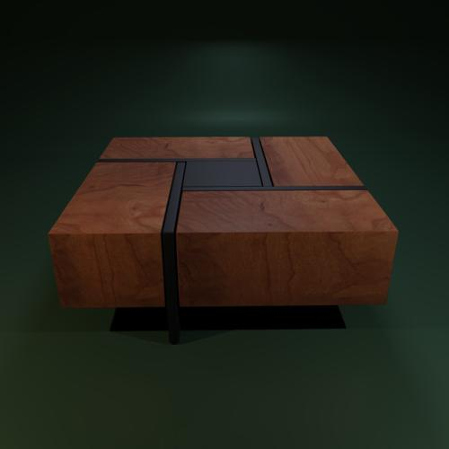 Lipscomb Makai Coffee Table (Modern) preview image