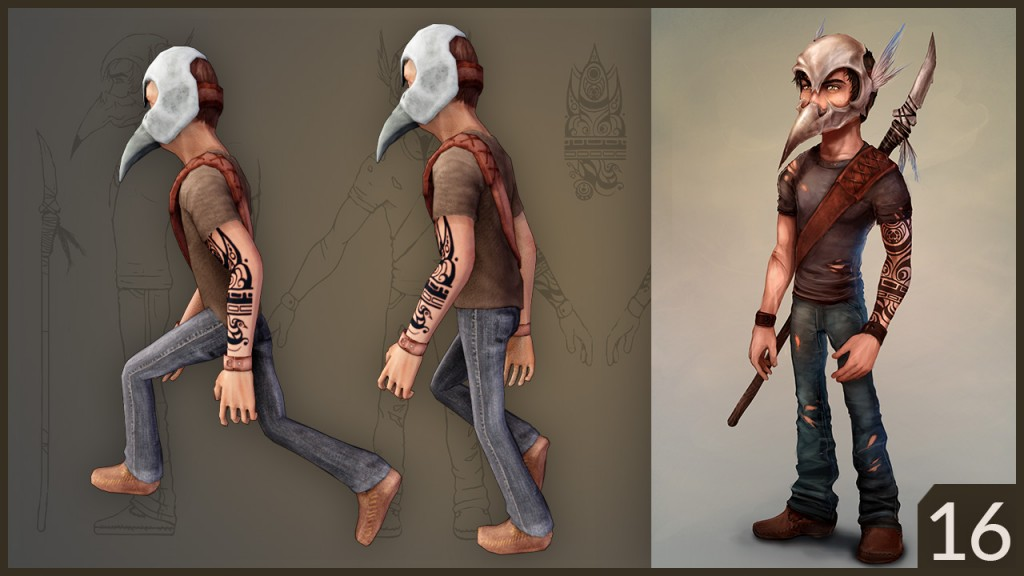 CGC Classic: Low Poly Character with Skull Helmet preview image 1