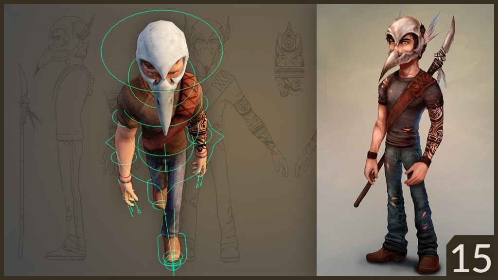 CGC Classic: Low Poly Character with Skull Helmet preview image 2