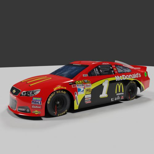 Nascar Racing Car Chevrolet SS preview image