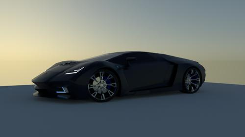 Supercar Tavaculo (Inspired by Lamborghini) preview image