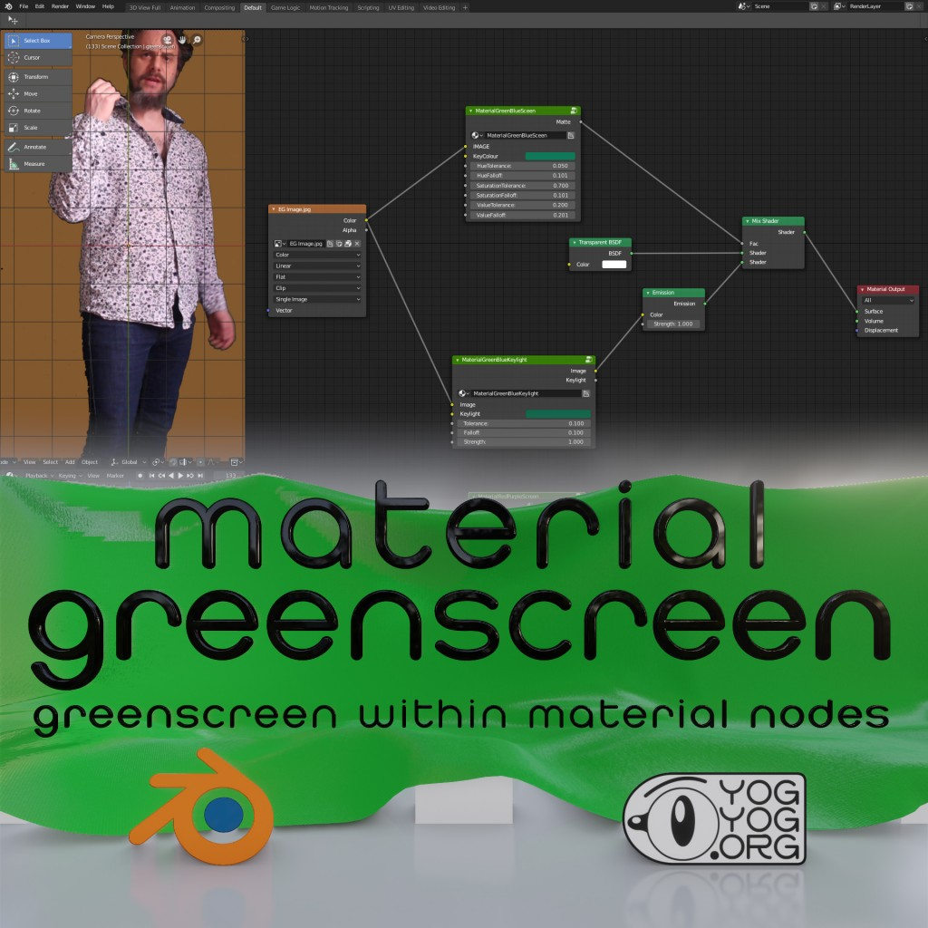 Greenscreen Within EEVEE preview image 1