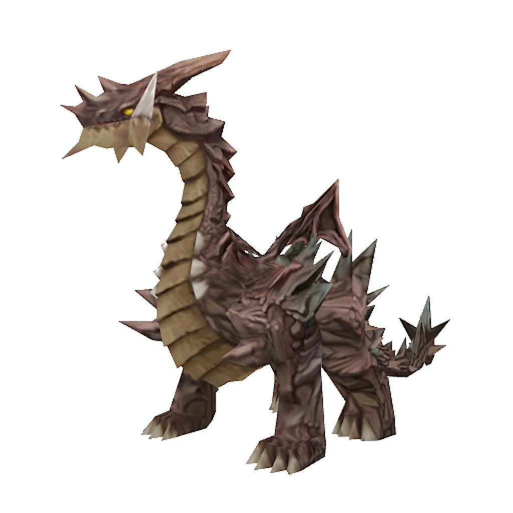 Low-Poly Dragon preview image 1