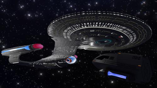 NCC1701D Enterprise (Blender 2.8) preview image