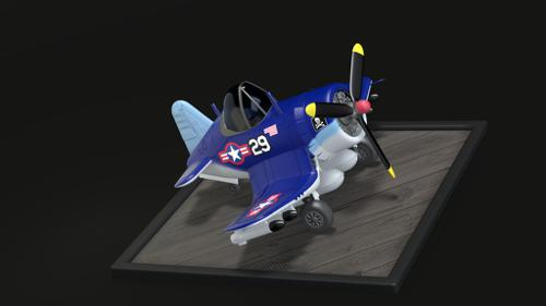 F4U Corsair Eggplane preview image