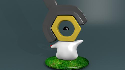 Happy Meltan with wrench preview image