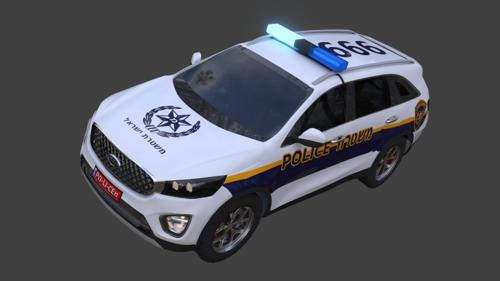 Israelian Police Car preview image
