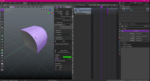 Pro Grape Theme for Blender 2.8 preview image