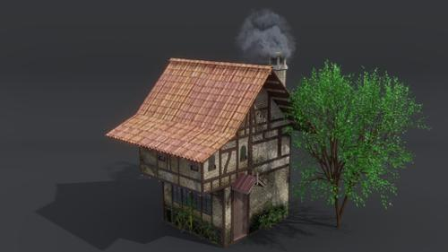 Medieval House (inspired from SnK franchise) preview image