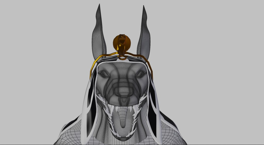 Anubis head preview image 2