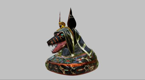 Anubis head preview image