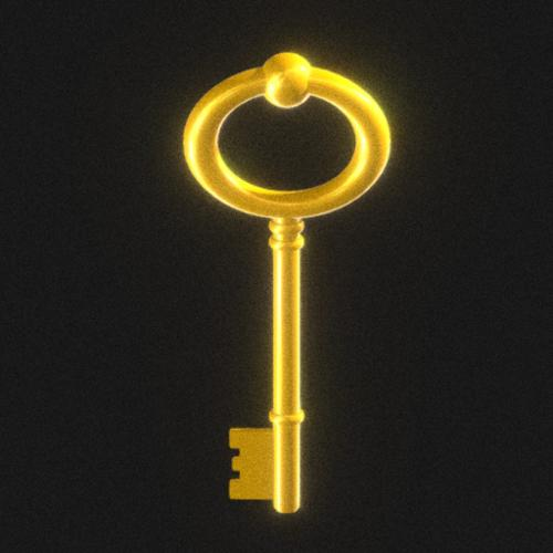 Gold key preview image