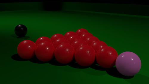 Snooker balls preview image