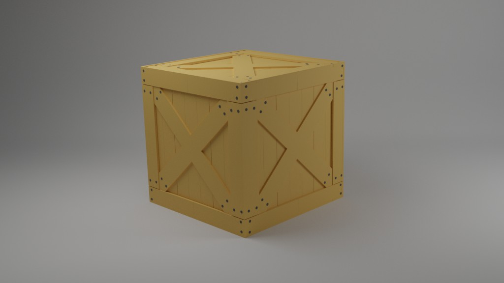 Wooden box preview image 1