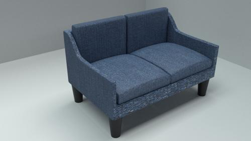 blue couch. preview image