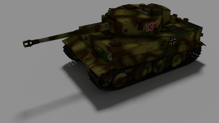 German Heavy Tank Tiger I preview image 2