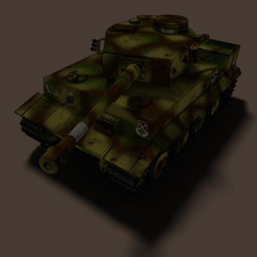 German Heavy Tank Tiger I preview image