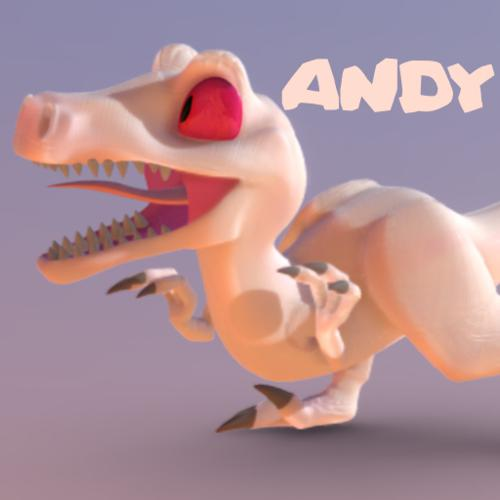 Andy The Velociraptor preview image