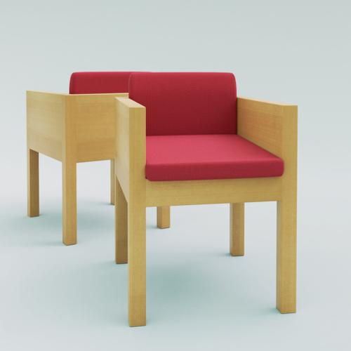 Chair 3d model preview image