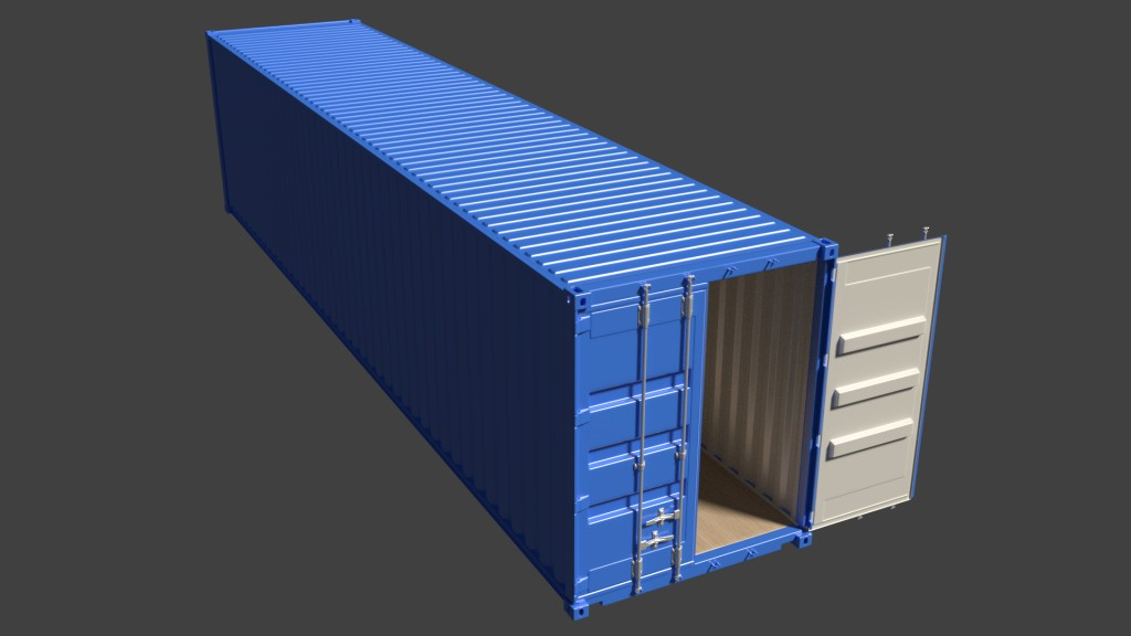 ISO Container 40ft/12.2m High Cube preview image 1