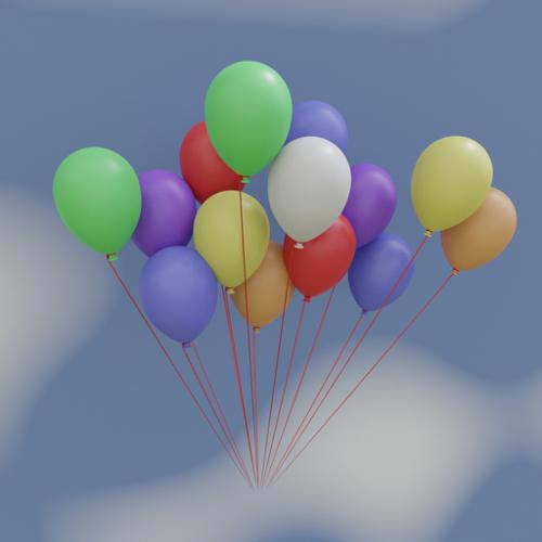 Balloons (Normal and Number) preview image