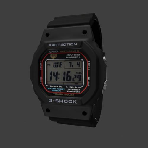 Digital watch G-Shock preview image